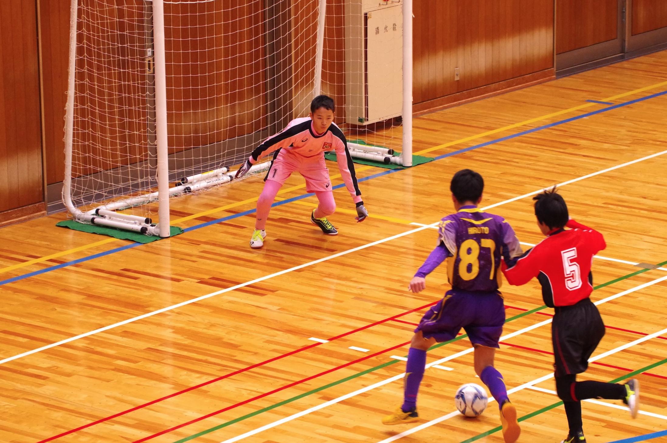 U-14 鳥取県フットサル大会