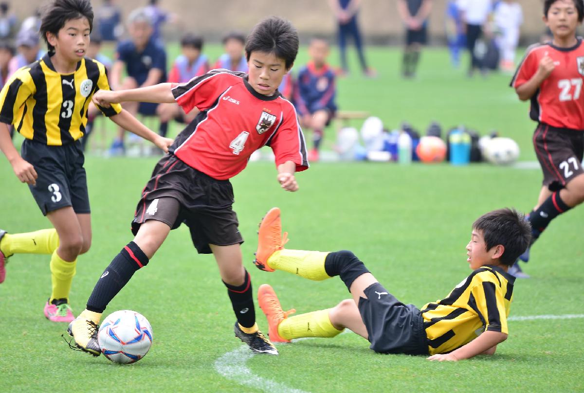中国少年サッカー大会1日目