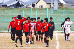U-14順位決定リーグVS鳥取南中