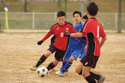 U-14リーグ vs蹴友B、桜ヶ丘中