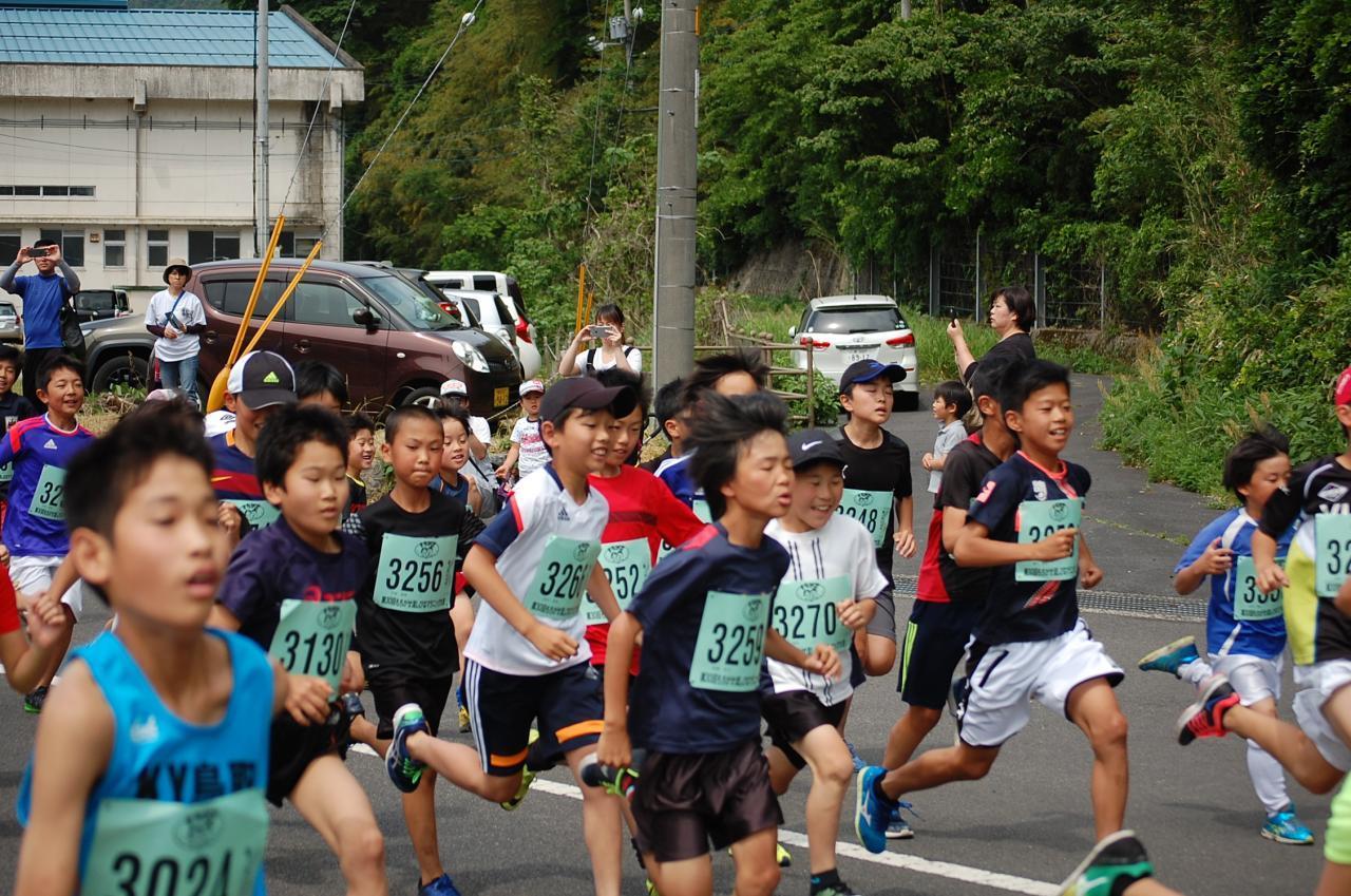 用瀬マラソン大会