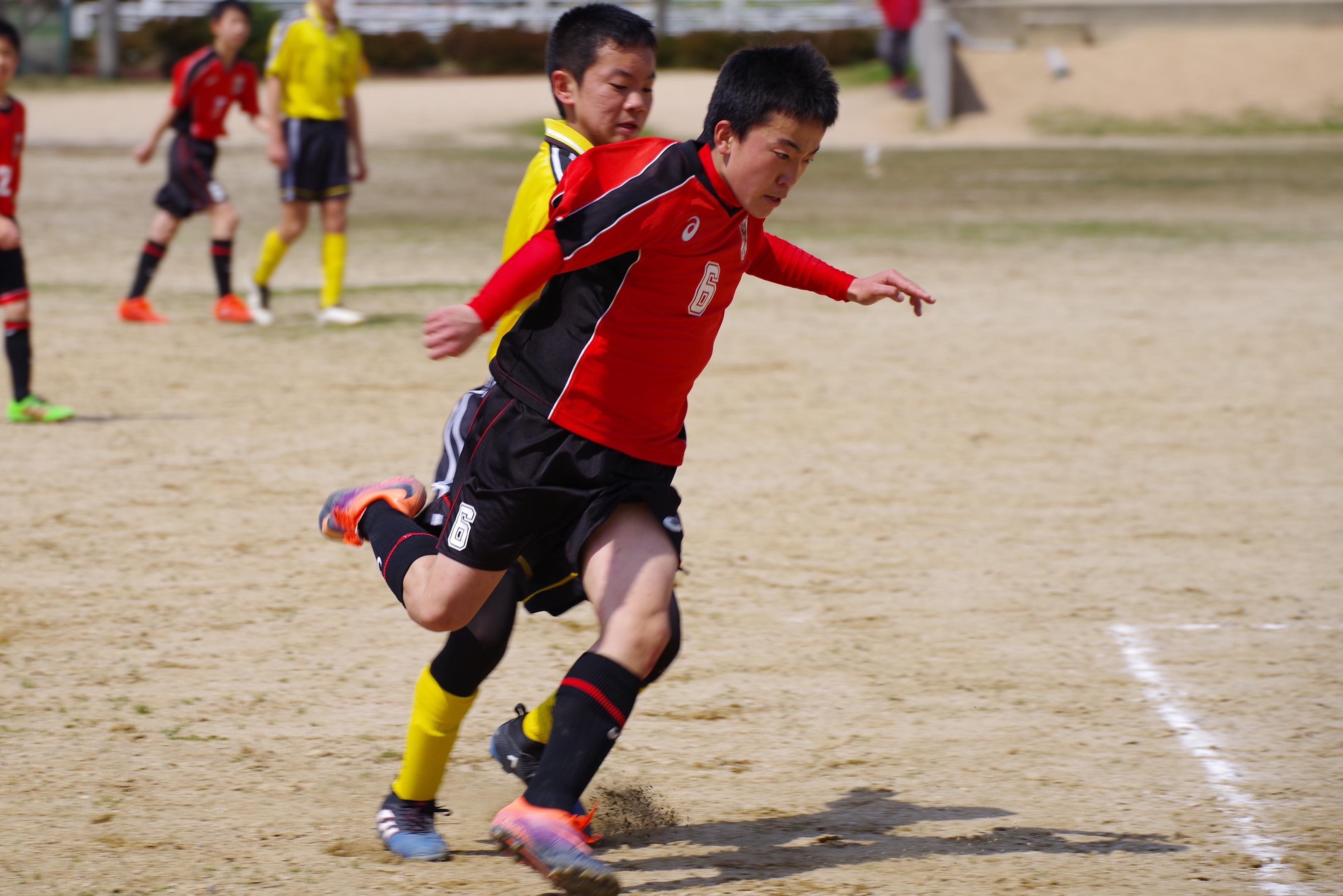 U-14 vs 湖東・気高中央