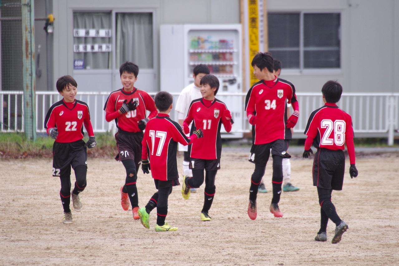 U14東部リーグ vs気高中、中ノ郷中