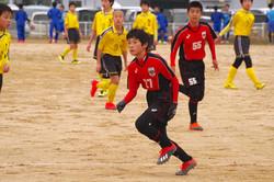 U-14 順位決定リーグVS気高中