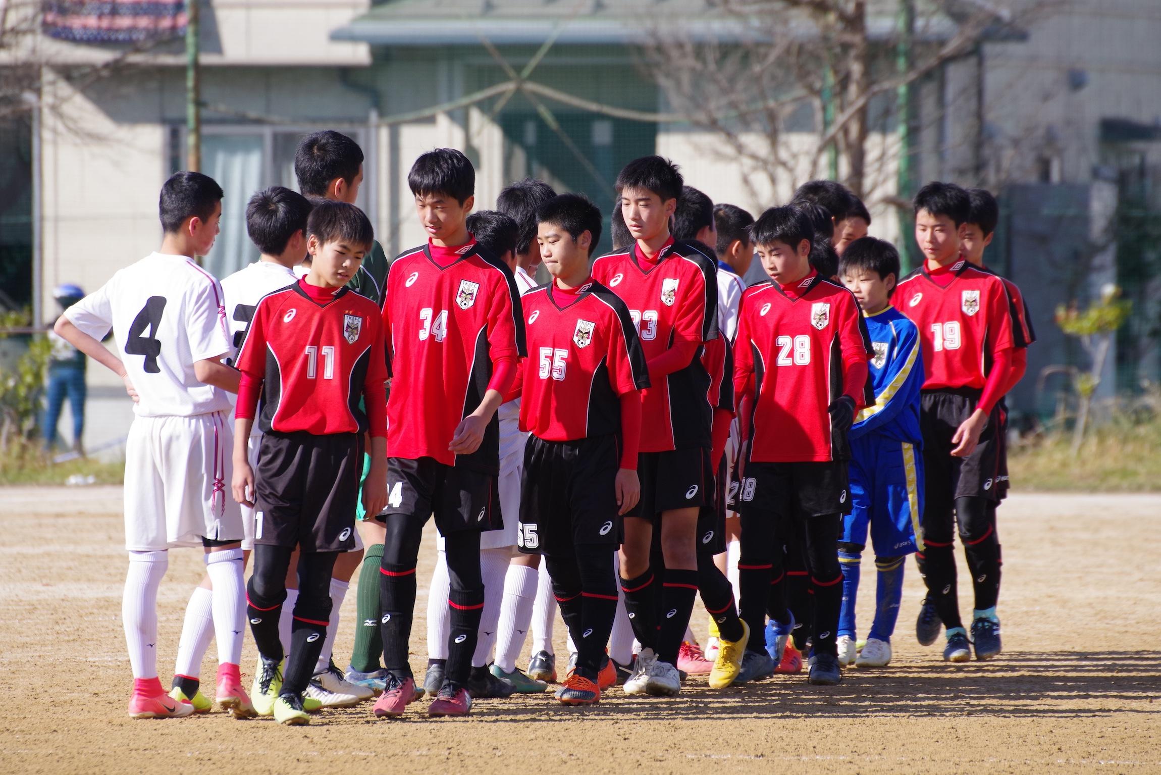 U-14 東部リーグvs鳥取南中