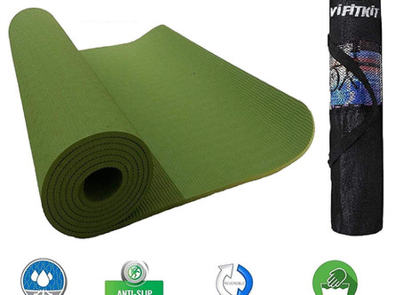 Recommended - VIFITKIT Yoga Mat with Free Yoga mat Bag Anti Skid Yoga mat for Gym Workout