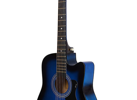Recommended - Juârez Acoustic Guitar, 38 Inch Cutaway