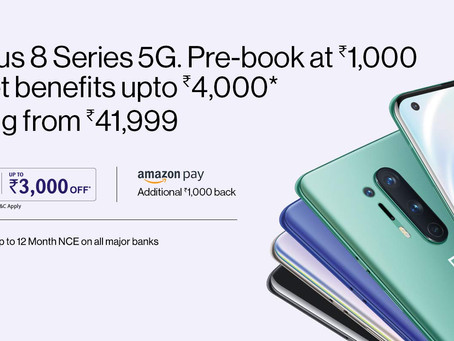 One Plus 8 Series 5G, will launch on 29th May 2020