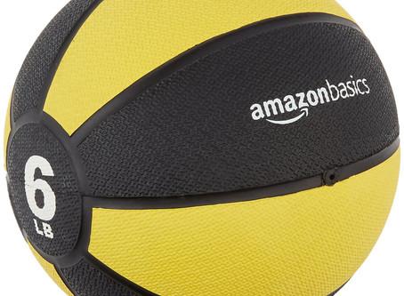 Recommended - AmazonBasics Medicine Ball
