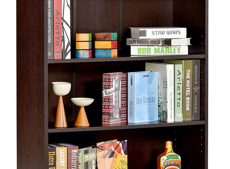 Recommended - DeckUp Muvo Book Shelf (Dark Wenge, Matte Finish)