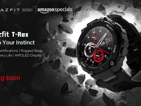 New Comming soon Product - Amazfit T-Rex Smartwatch