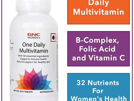 Recommended - GNC Women's One Daily Multivitamin - Supports Immune Health