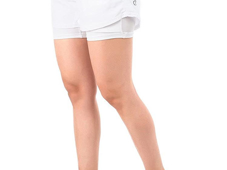 Recommended - TRUEREVO Women's Double Layered Running Shorts with Phone Pocket