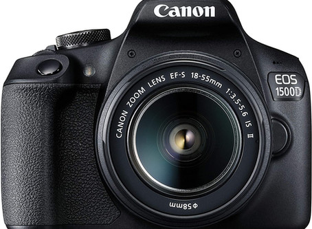 Recommended - Canon EOS 1500D 24.1 Digital SLR Camera (Black)