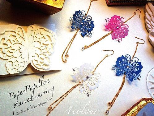蒼山日菜★PAPERMAKE Paper Pierced earring (片耳)hina-0005