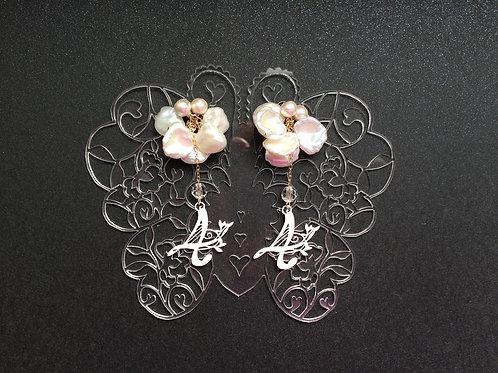 蒼山日菜★PAPERMAKE Paper Pierced earring  numerology
