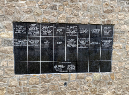 New Memorial Wall Submissions