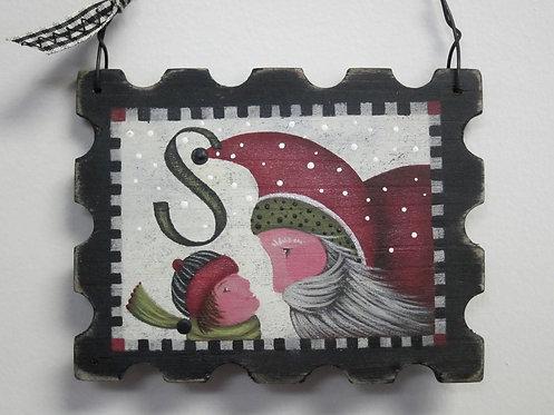3422 Forever Santa Stamp #2