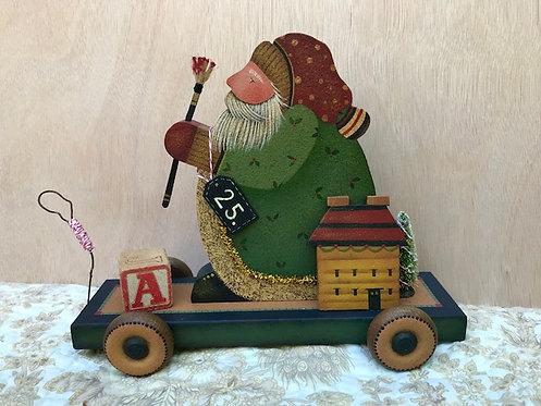 3812 Ye Olde Toymaker - Santa Pull Toy #2