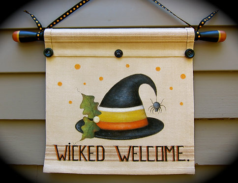 3515 Wicked Welcome Banner