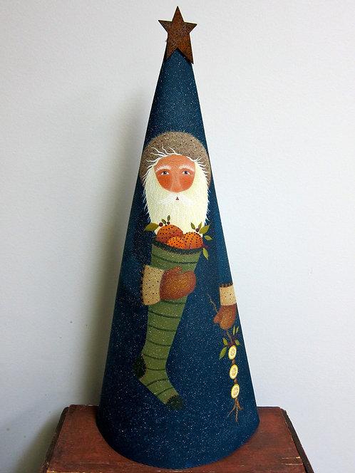 3314 Citrus Snickle Cone Santa