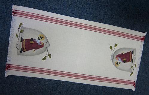 3216 Santa Cloche Tablerunner