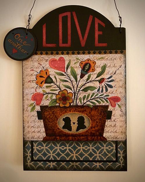 "4101 ""Love Letters"" Tavern Board"