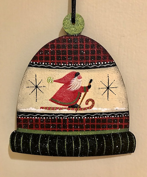 """3818 """"Nordic Nick"""" Warm and Wooly Ski Hat #1"""