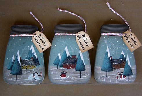 3432 Winter Preserves Ornaments