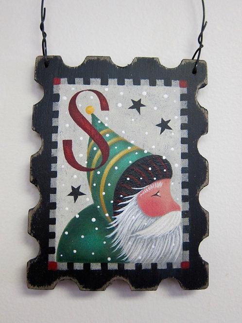 3421 Forever Santa Stamp #1