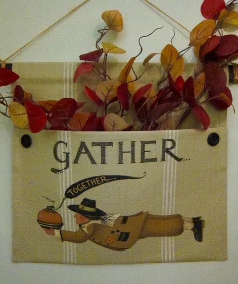 """3718 """"Gather Together"""" Pilgrim Pocket"""