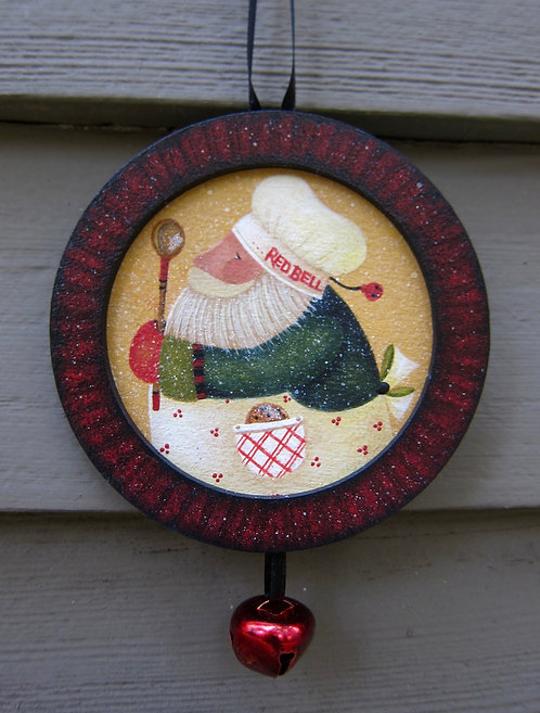 """3622 """"Red Bell Bakers"""" ornament"""