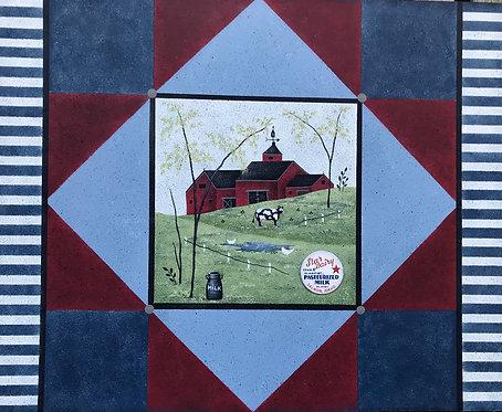 """3904 Piece-full Pastures """"Barn Quilt"""""""