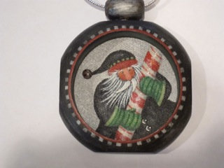 3507 Candycatcher Santa Ornament