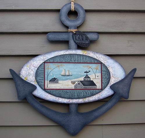 3612 Anchored Ashore