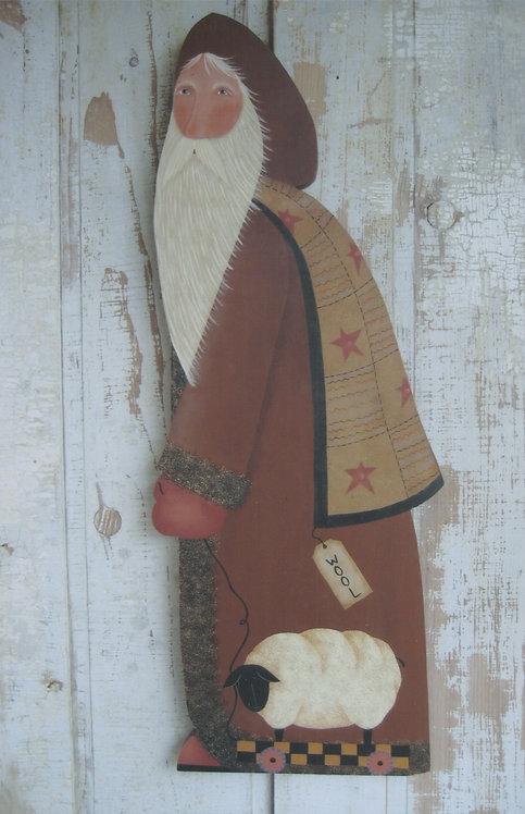 2423 Wool Gatherer Santa