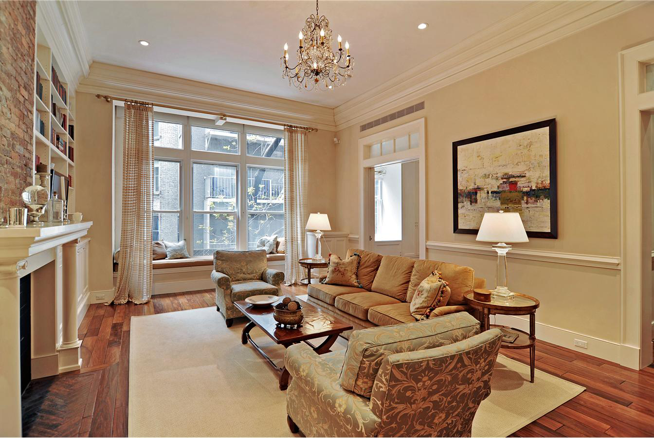 Gramercy Park Living Room, NYC