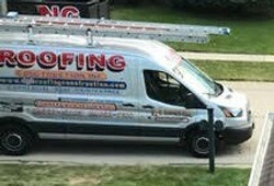 DGB Roofing work truck