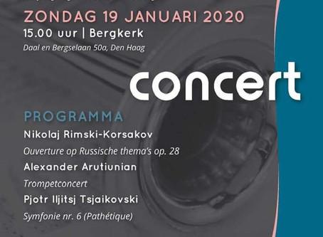 Trompet concert van A.Arutunian met Musica Den Haag