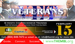 Veteran's Entrepreneurship Training FLYER