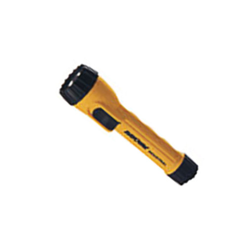 Ray-o-vac Industrial Flashlight Yellow/Black Polypropylene AA - IN4