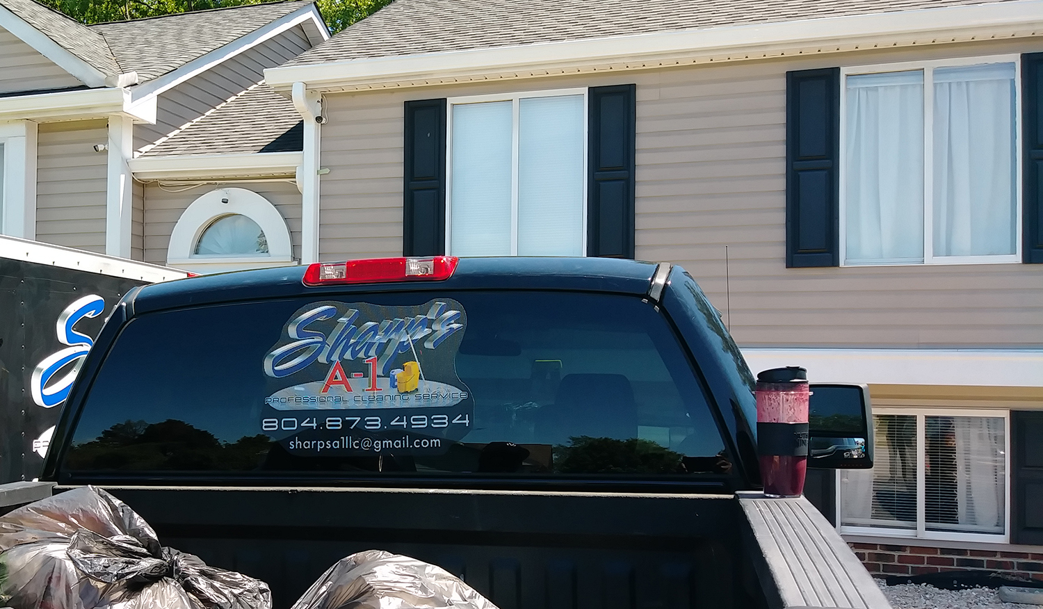 Perforated Window Decals