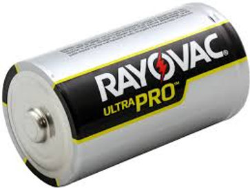 RAYOVAC-Alkaline D Size Shrink 6 pack