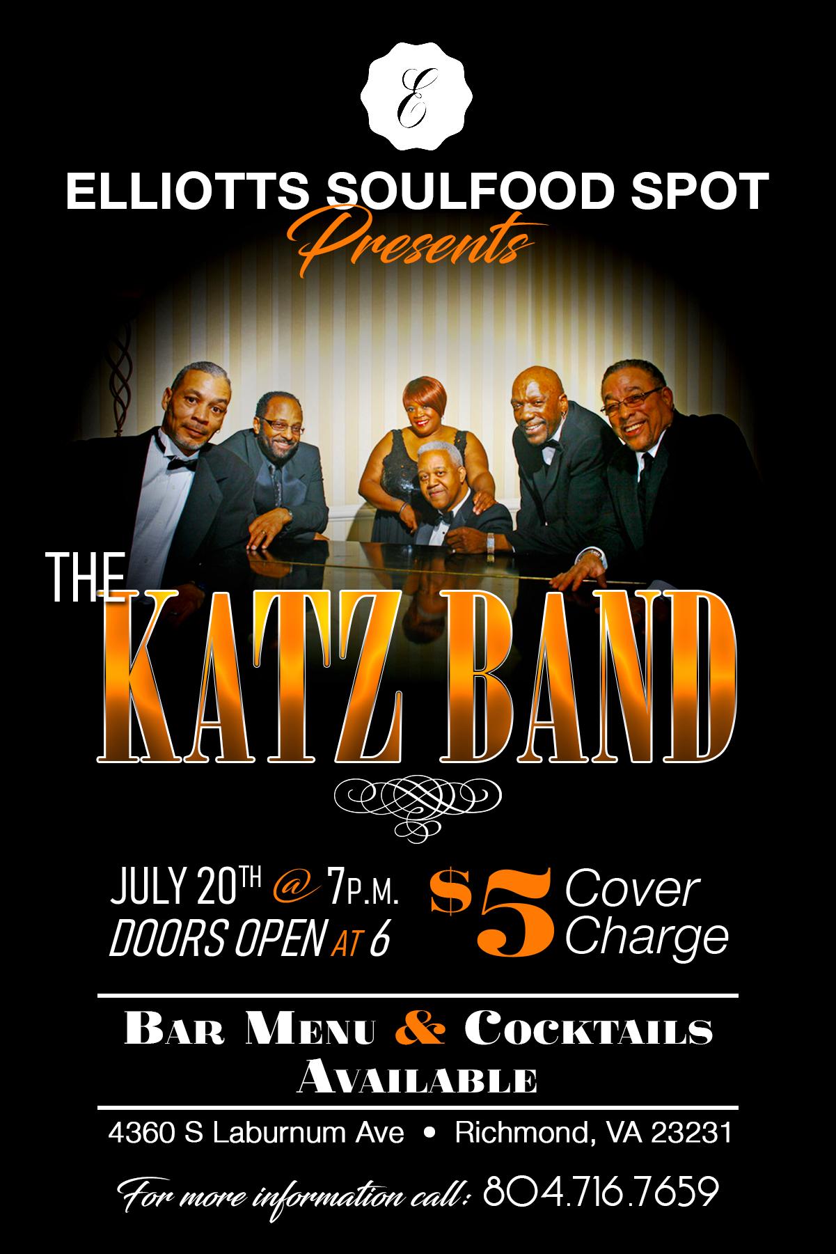 Katz Band Flyer