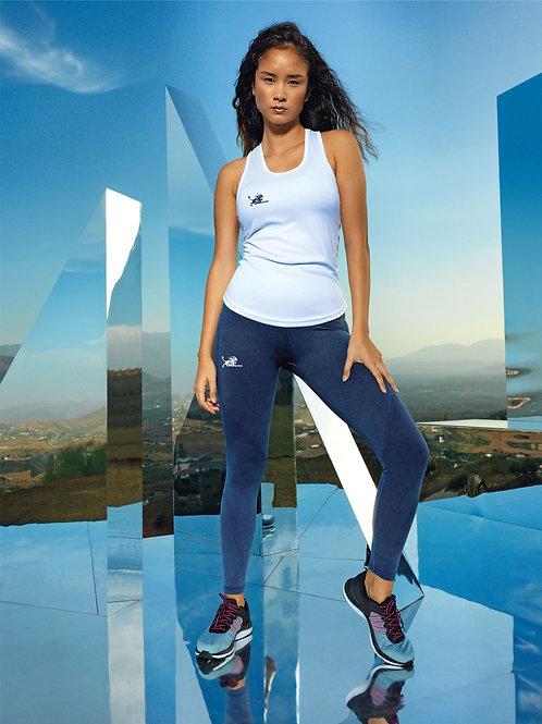 TR305 Women's seamless '3D fit' multi-sport denim look leggings