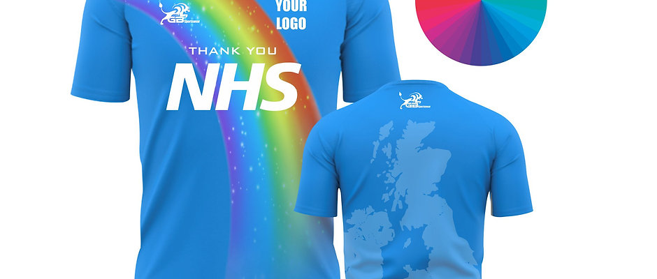 """Special edition """"Thank You NHS"""" T-Shirts"""