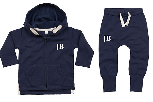 Navy Baby Tracksuit