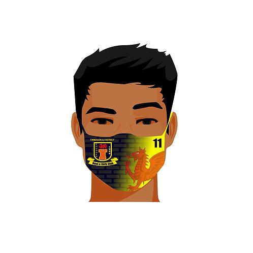 Club Sublimated face mask