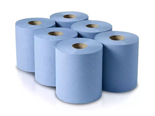 Centrefeed Blue Roll (6pk)