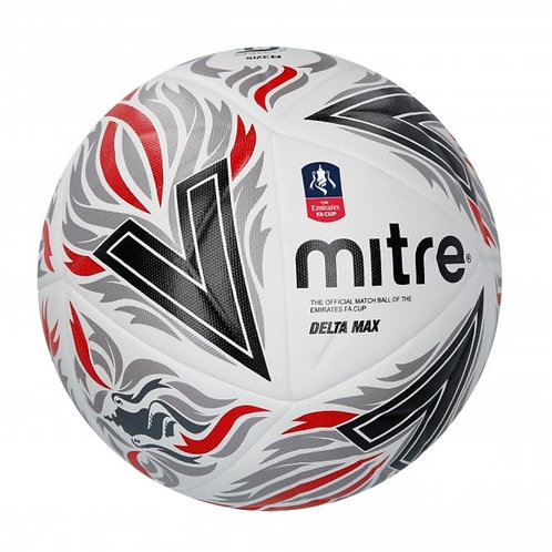 Mitre Delta Max Official Emirates FA Cup Football